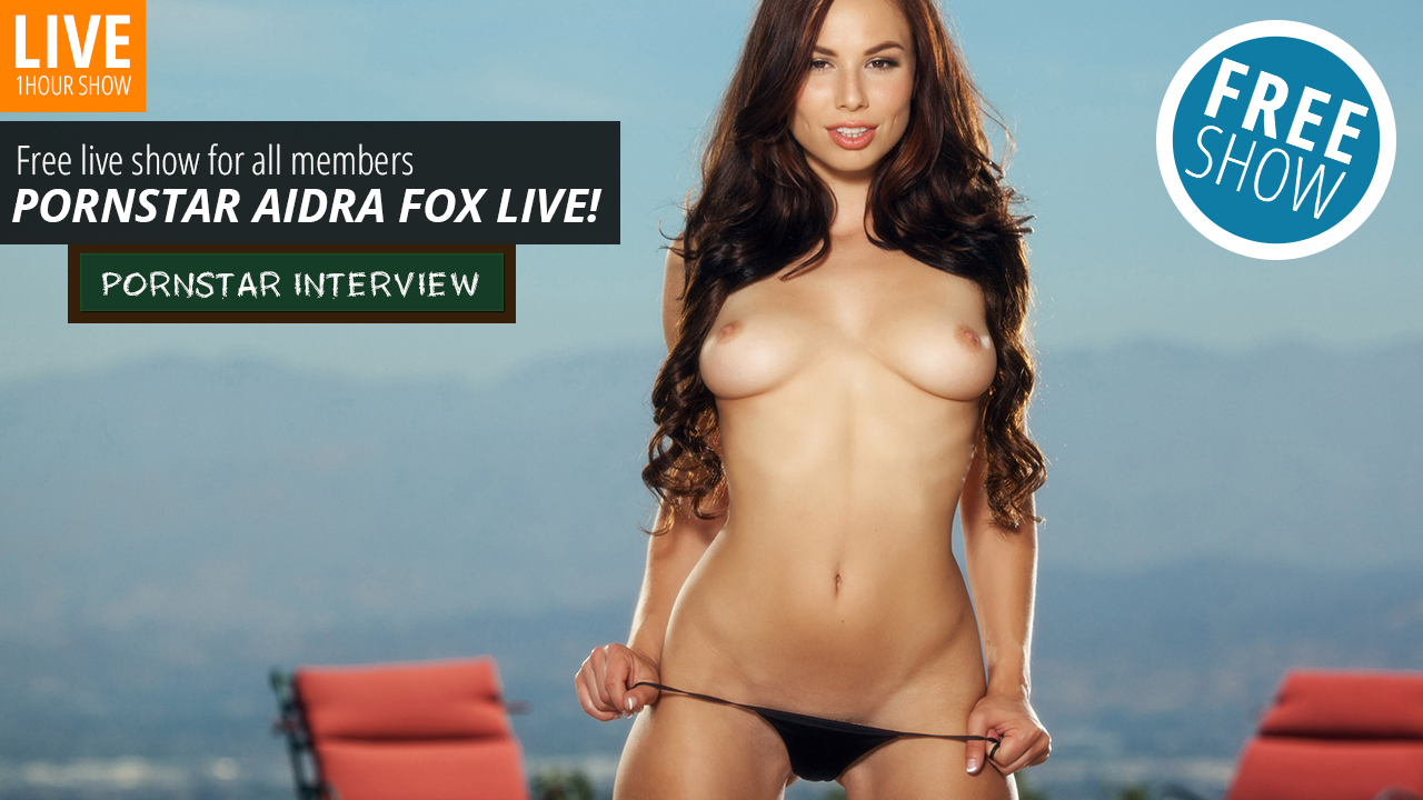 Webcams live sex show with Aidra Fox